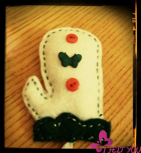 Un guanto da forno.. il regalo per le mamme! di I Felt YOU su DaWanda.com