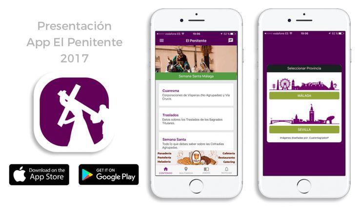 App El Penitente 2017 Semana Santa Málaga Sevilla