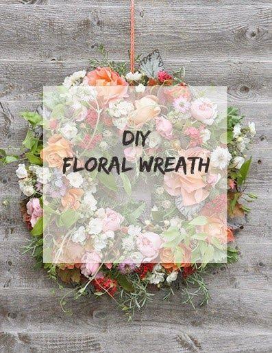 Ioanna's Notebook - DIY Floral Wreath - Step by Step tutorial
