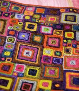 Babette BlanketCrochet Blankets, Ideas, Colors, Crochet Squares, Crochet Baby Blankets, Granny Squares, Babette Blankets, Crochet Pattern, Blankets Pattern