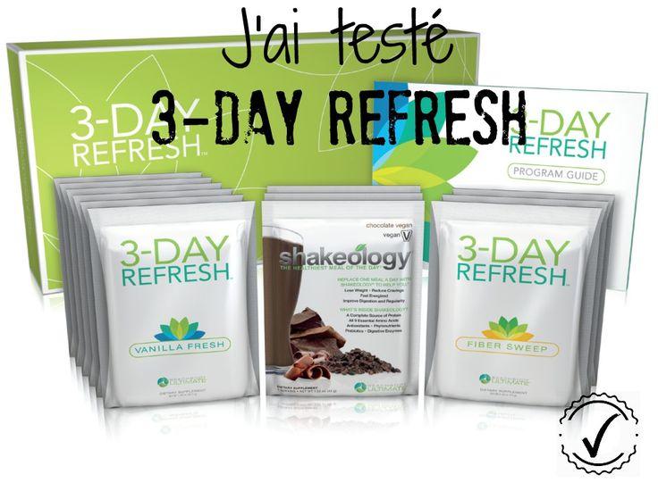 J'ai testé 3-Day Refresh