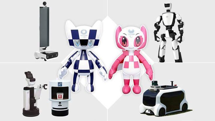 toyota unveils mascot robots and tiny autonomous car for tokyo 2020 olympic games