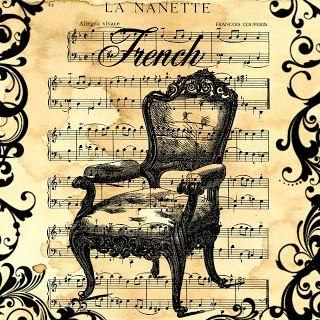 MI BAUL DEL DECOUPAGE: EN CLAVE DE... MUSICA.