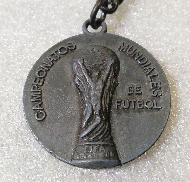 RARE Vintage Metal Keychain ✱ SPAIN 82 WORLD CUP ✱Porte-Clés Football Soccer  | eBay