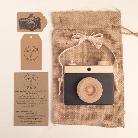 Wooden Camera, Homemade, Wooden Toy Camera, Handcrafted, Imagination play