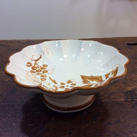 Porta torta decorazione stampe romagnole | Ceramica ...