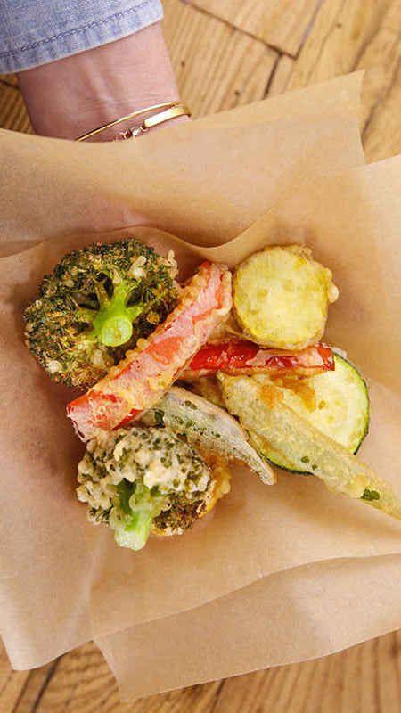 Carla Hall's easy tempura will get the whole family eating their veggies #24DaysofDinner