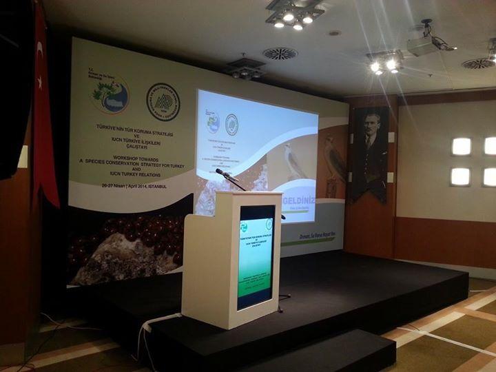 türkiyenin tür koruma stratejisi çalıştayı 2014