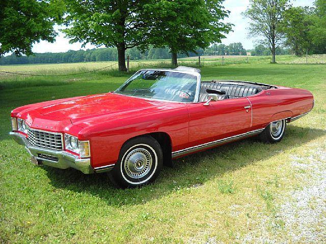 1971 Chevrolet Impala https://en.wikipedia.org/wiki/Chevrolet_Impala#Fifth_generation_.281971.E2.80.931976.29