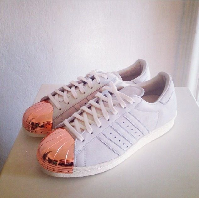 adidas toe rose gold