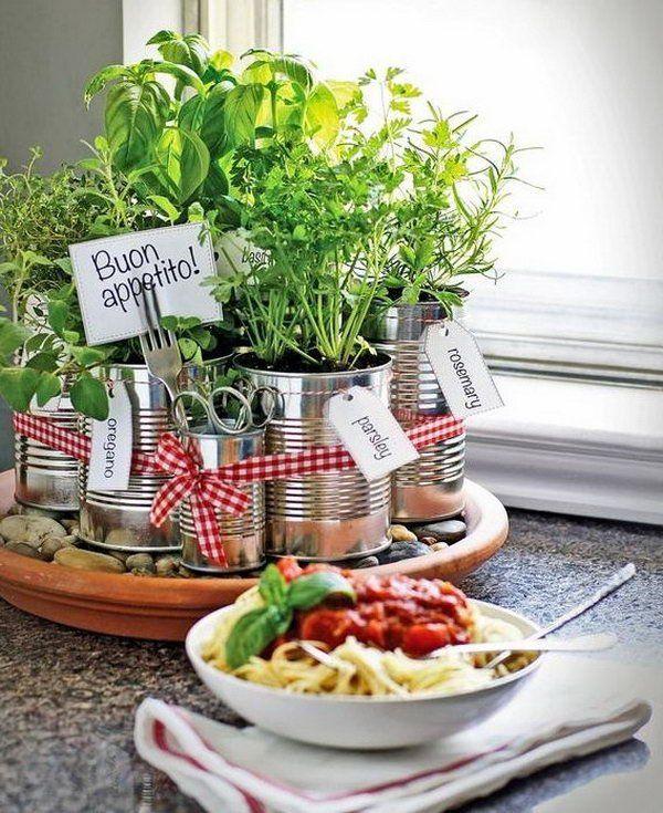 25 Awesome Indoor Garden Herb DIY ideas 13