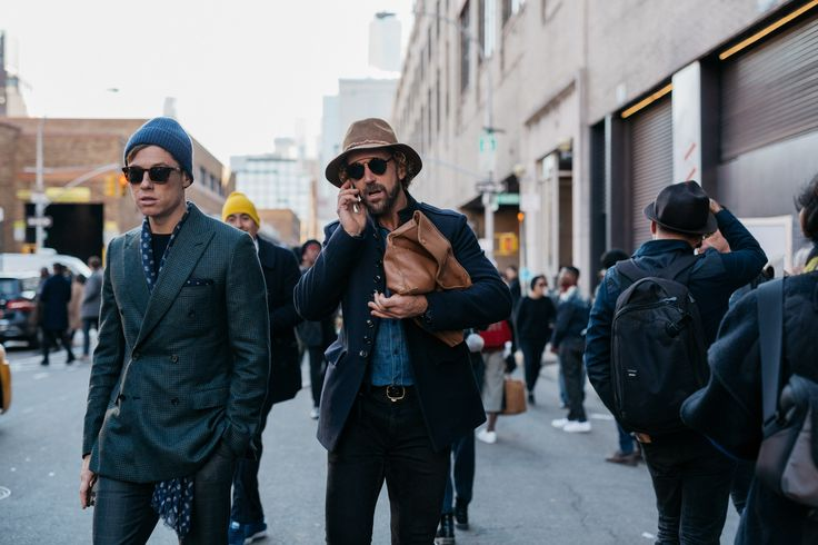 The Best Street Style From New York Fashion Week: Men's Day 3 | GQ