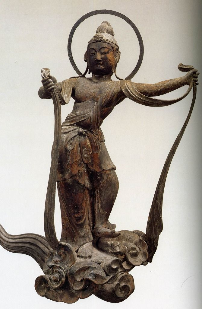 雲中供養菩薩像、北23号像/Unchu Kuyo Bodhisattva http://www.geocities.jp/saitohmoto/hobby/gakki/Byodoin/Byodoin.html