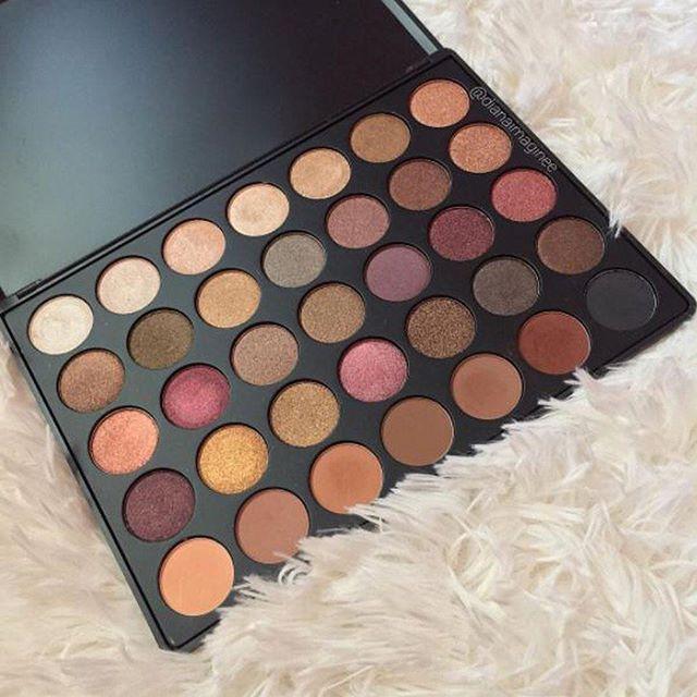 La 35F es la paleta de #Sombras que necesitas #Eyeshadow #Morphe #Makeup