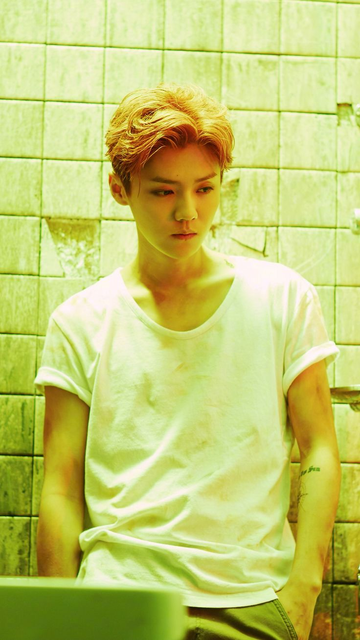 鹿晗 Luhan mini album <I> publicity photo