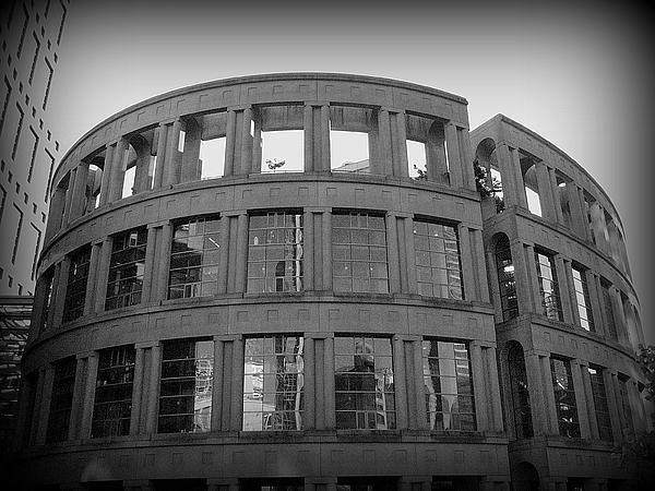 Vancouver Public Library by Brian Chase  Available in canvas prints, framed prints, art prints, acrylic prints, metal prints and greeting cards.