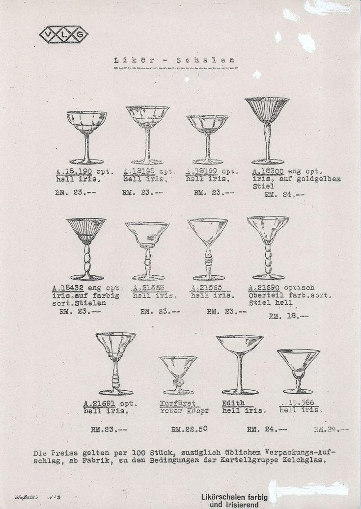 """""""VLG 1938 Kelchgläser"""""""