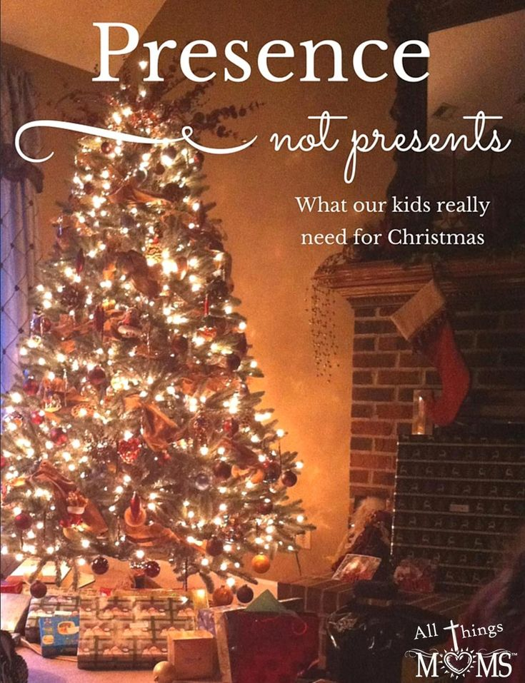 Presence not Presents...What our kids really need for Christmas - http://allthingsmoms.com/presence-not-presents-what-our-kids-really-need-for-christmas/