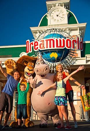 Dreamworld on the Gold Coast is Australia's answer to Disneyland!