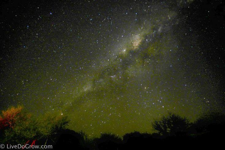 Milky Way from the Atacama Chile | LiveDoGrow