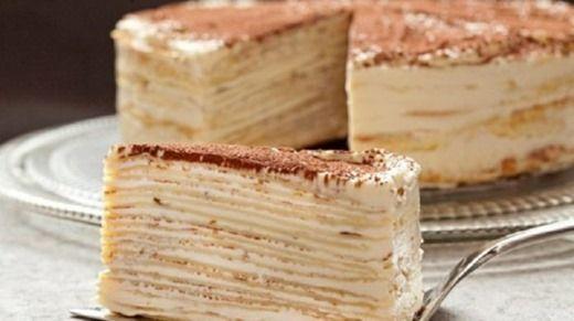 Крепвиль — коронный торт французской кухни