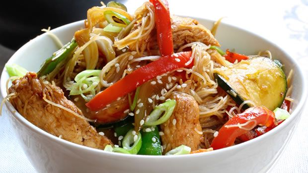 Sesame Chicken: Try one of our favorite healthy meals!