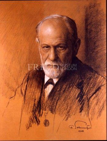 Freud by Ferdinand Schmutzer, 1926