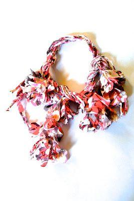 Fabric Necklace 布のネックレス, Flor de Viento IKUKO FUJII
