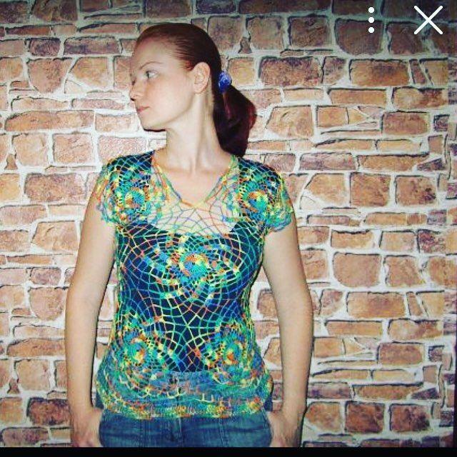 allamarahovskaya Когда- то давным давно у меня были длинные золотые волосы стройная фигура и голубые глаза. Про глаза я вру. Ну не важно. Важно что когда- то я пыталась вязать маячки. И вот одна из моих скромных попыток. #вязаниеалматы #вяжутнетолькобабушки #ручнаяработа #вязаниекрючком#hendmade #crochet #крючок#