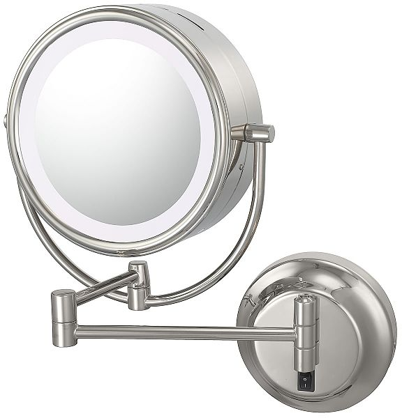 140 best lighted makeup mirror images on pinterest lighted buy kimball young lighted magnification dual sided wall mounted mirror in chrome from at bed bath beyond equipped with led lighting this dual sided aloadofball Choice Image