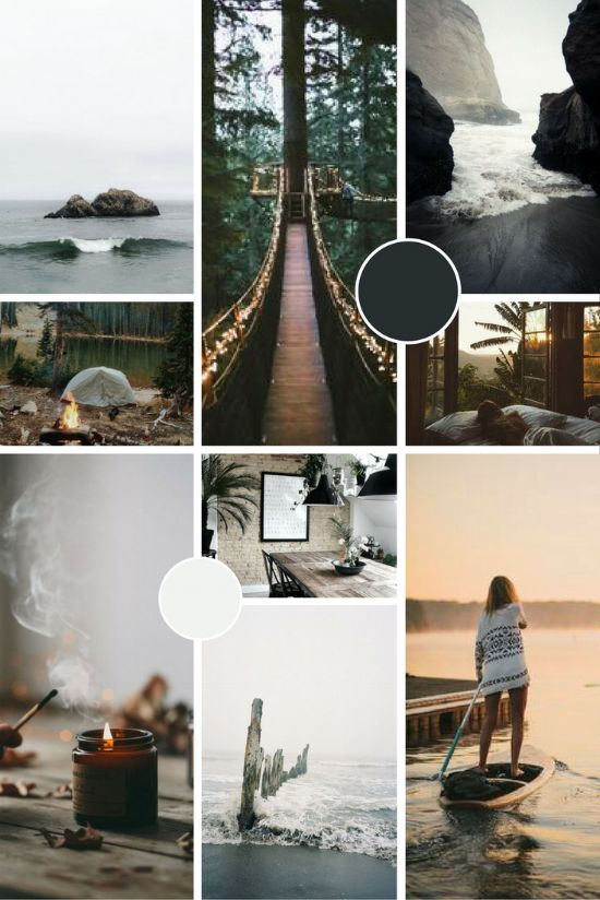 The Cornish Life Brand Moodboard | byRosanna