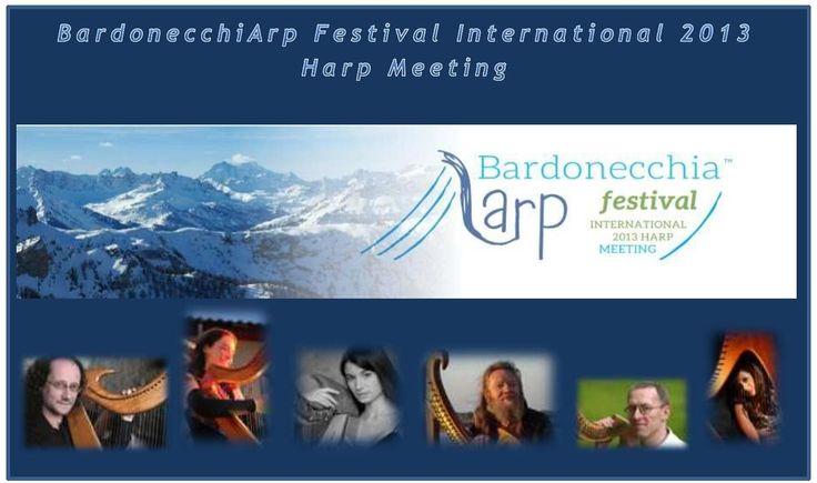 Il suono seducente dell'arpa celtica a Bardonecchia dal 29 Agosto al 1 Settembre 2013