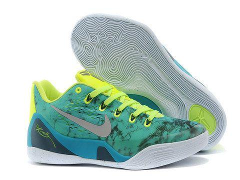 Nike Kobe 9 EM \u201cEaster\u201d Turbo Green/Metallic Silver-Volt-Black For Sale,  Price: - Air Jordan Shoes, New Jordan Shoes, Michael Jordan Shoes
