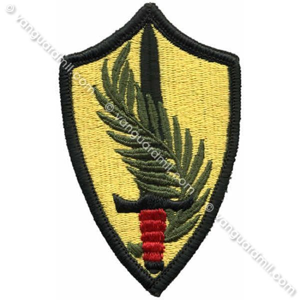 Army Patch: U.S. Army Element Central Command - color