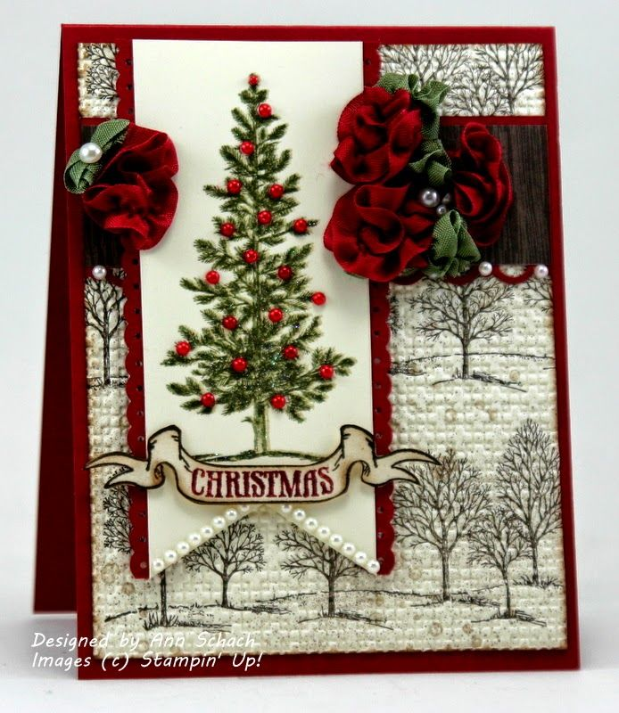 17 best images about christmas on pinterest stampin up for Elegant christmas card ideas
