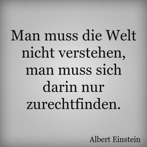 Einstein.  zurechtfinden (cope)