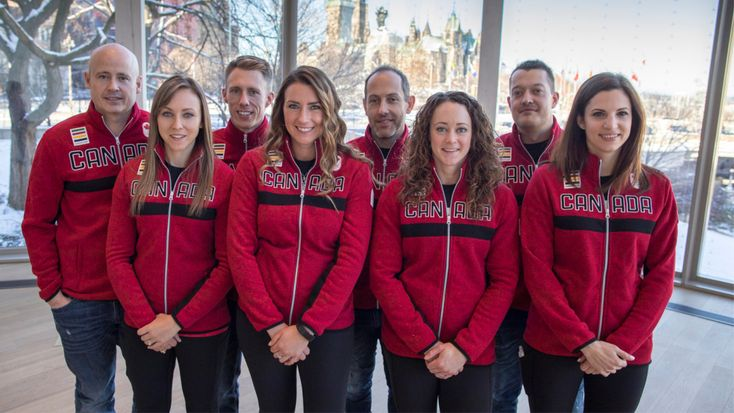 GO CANADA!  Canadian men's and women's curling teams named for PyeongChang 2018.
