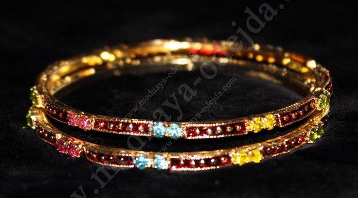 Индийские браслеты, 2 шт, d=6 cm