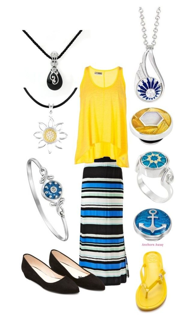 Summer Vacation outfit from 2014 with Kameleon Jewelry updated with new Kameleon Jewelry 2015 shown on the right.