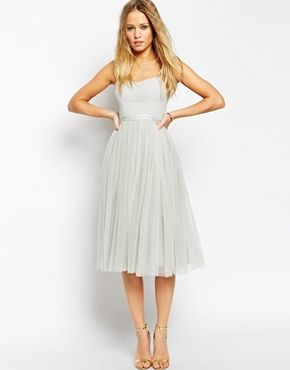 Needle & Thread Giselle Ballet Midi Dress