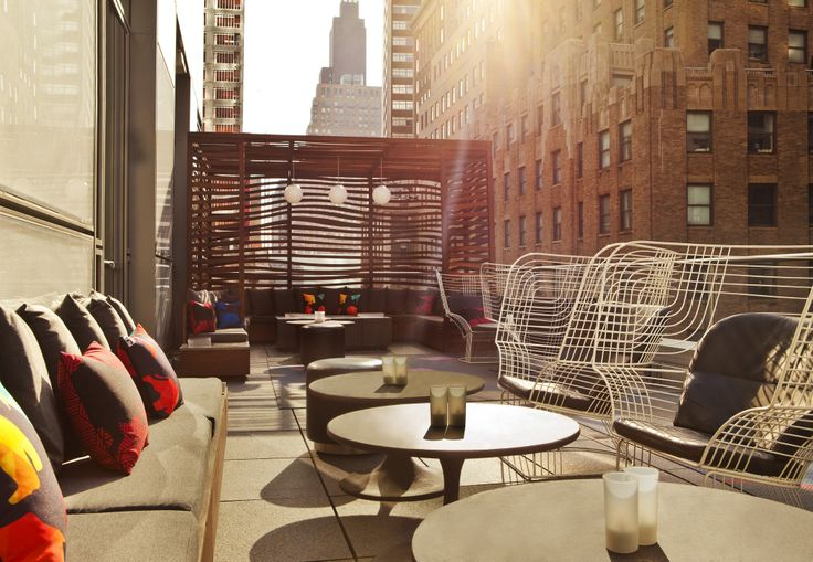 11 best Living Room Bar & Terrace @ W New York - Downtown images on ...