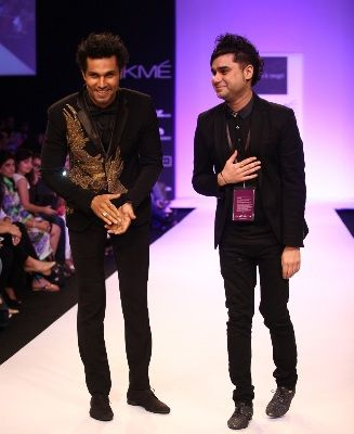 """Bringing glamour from the Gothic, Byzantine and Baroque eras onto the ramp at Lakme Fashion Week Winter/Festive 2013, Rajat Tangri's collection called """"Dark Ages"""" aptly recreated the drama in colours, styles and forms."""
