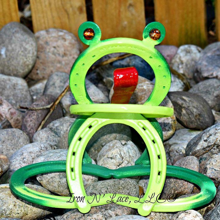 Best 25 horseshoe crafts ideas on pinterest horseshoe projects horseshoe frog solutioingenieria Choice Image