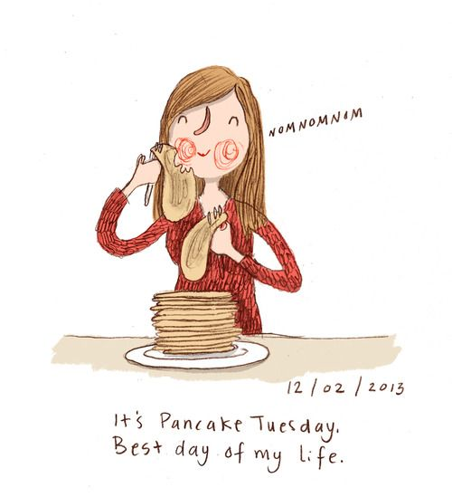 It's Pancake day! by Marloes de Vries