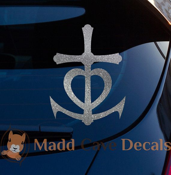 Best Christian CarLaptop Decals Images On Pinterest Laptop - Anchor custom vinyl decals for car