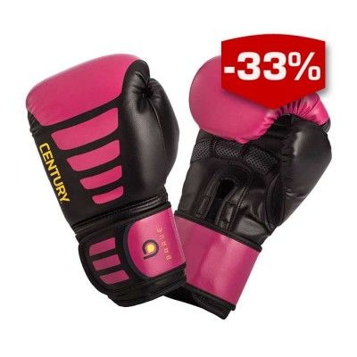 From bag workouts to partner training, these gloves are designed for a woman's unique fist shape, which is typically longer and narrower in comparison to the male fist. Featuring built-in grip bars to reduce hand fatigue, these gloves also have mesh palm inserts for breathability and a durable polyurethane construction. Imported