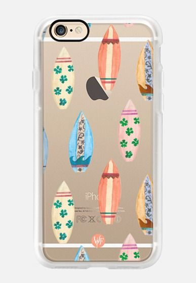 Casetify iPhone 7 Case and Other iPhone Covers -  Sunny Surf Boards by Wonder Forest by wonder forest   #Casetify