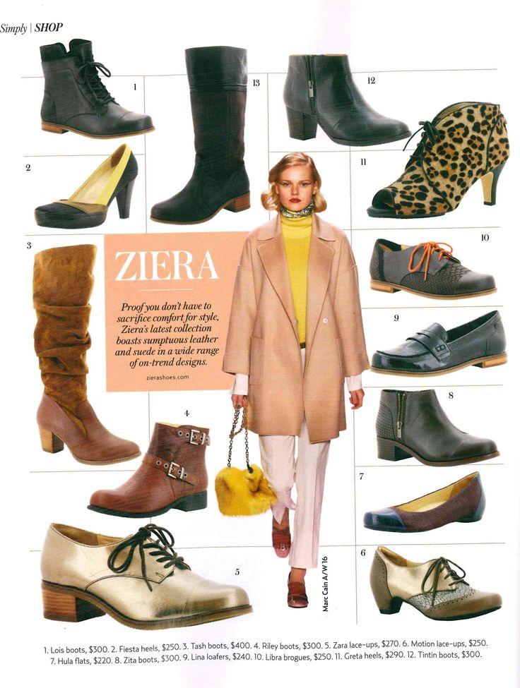 Various AW16 styles, Simply You magazine (Autumn Winter '16)
