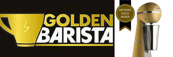 Ο Jacobs GoldenBarista στην Θεσσαλονίκη μαζί με την ARTEMIS MIXER σε ένα ακόμη προκριματικό διαγωνισμό.