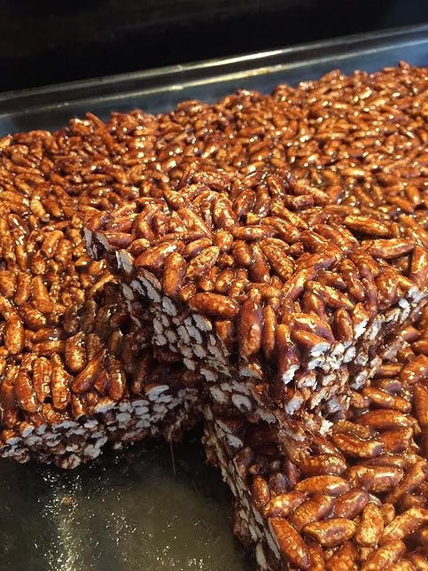 Gluten Free Puffed Rice Squares